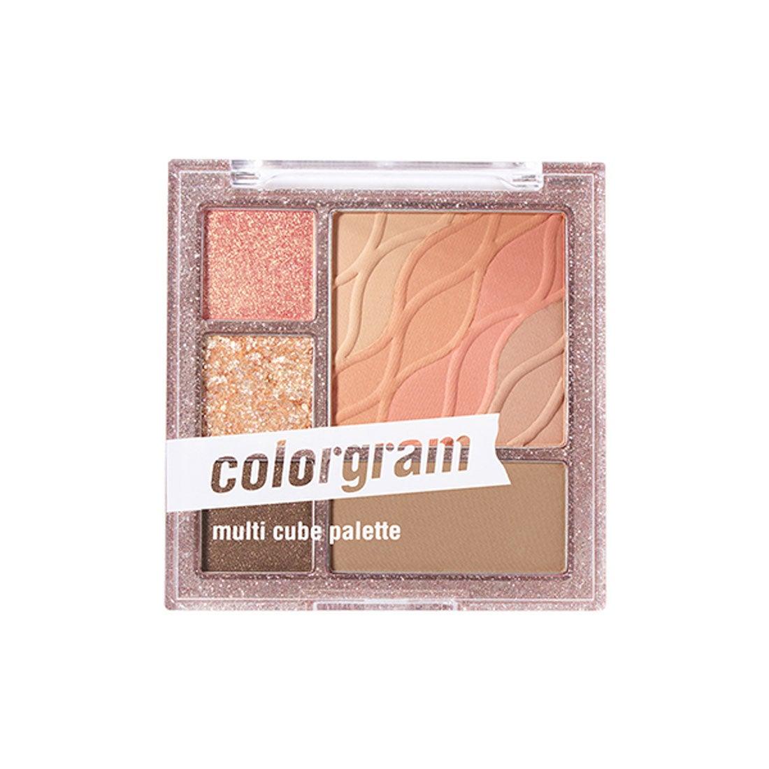 カラーグラム colorgram マルチキューブパレット 02 ロマンチックキューブ【返品交換不可】