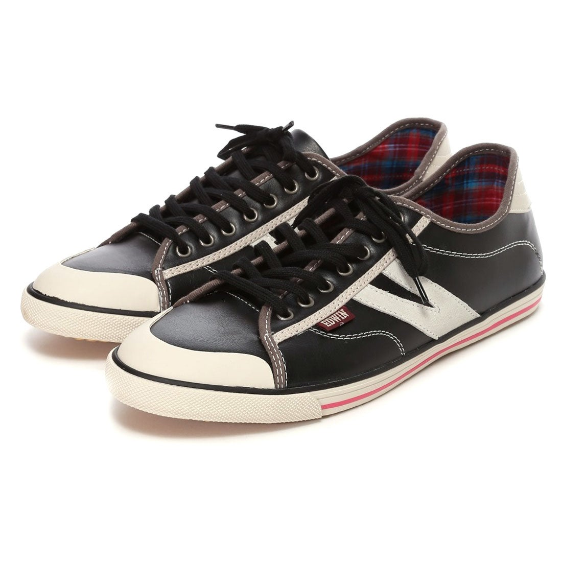 エドウィン EDWIN カジュアルシューズ(BLACK) ,靴とファッションの通販サイト ロコンド