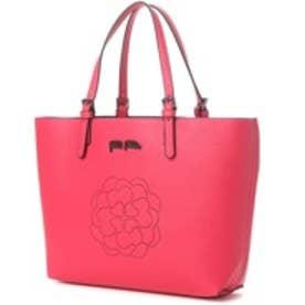 フォリフォリ Folli Follie SANTORINI FLOWER PERFORATEDトートバッグ (ピンク)
