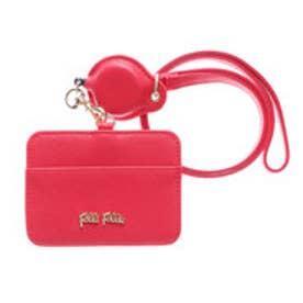 フォリフォリ Folli Follie SAFFIANO ID/カードケース (レッド)