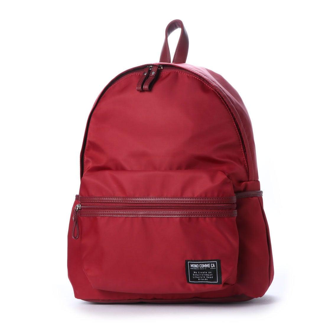 406e0fe72b コムサイズム COMME CA ISM MONO カラー ナイロン リュック (ボルドー) -靴&ファッション通販 ロコンド〜自宅で試着、気軽に返品