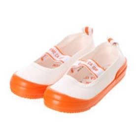 コムサイズム COMME CA ISM 日本の伝統色上履き (オレンジ)