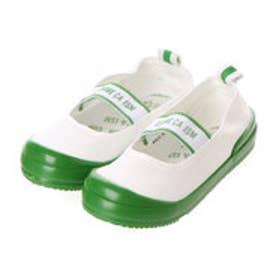 コムサイズム COMME CA ISM 日本の伝統色上履き (グリーン)