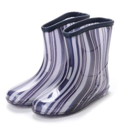 1af98e7544d53 コムサイズム COMME CA ISM 縞柄レインブーツ(キッズサイズ) (オフ) -靴&ファッション通販 ロコンド〜自宅で試着、気軽に返品