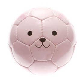 コムサイズム COMME CA ISM 動物ミニサッカーボール (ピンク)