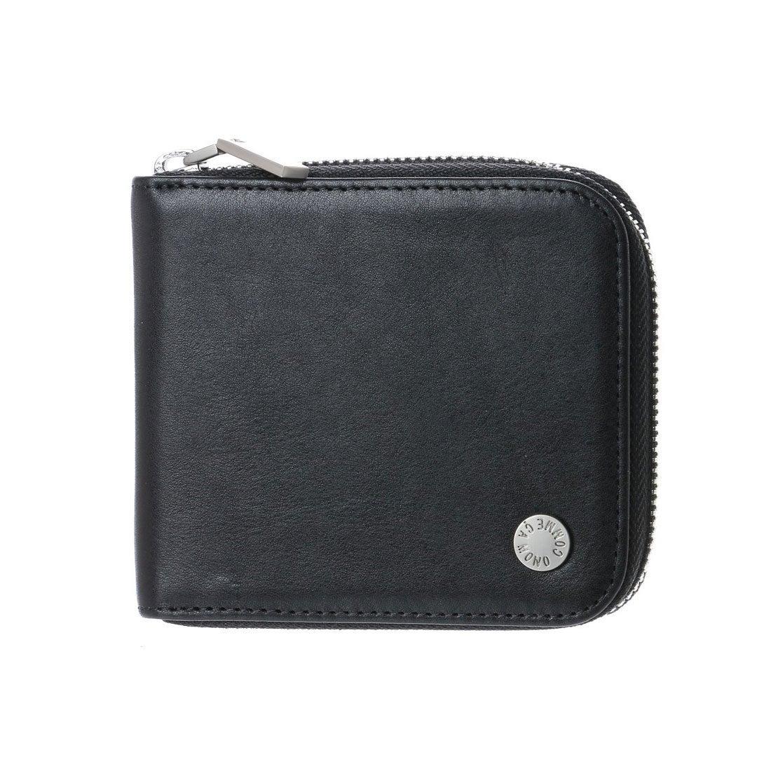 b4cc097715ed コムサイズム COMME CA ISM MONOラウンドファスナー2つ折り財布 (ブラック) -靴&ファッション通販 ロコンド〜自宅で試着、気軽に返品