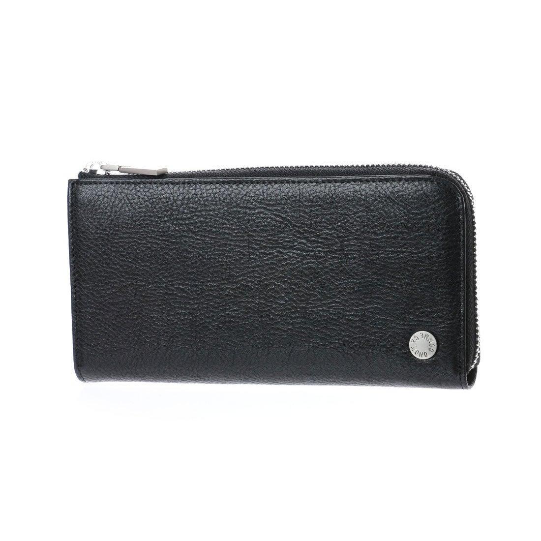 コムサイズム COMME CA ISM MONOL字ファスナー型長財布 (ブラック) レディース メンズ