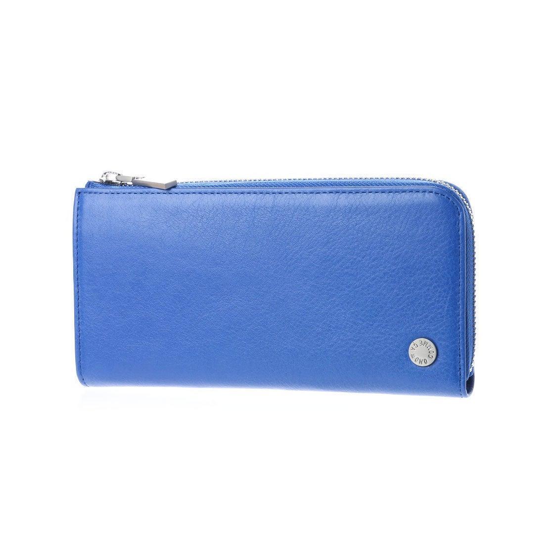 コムサイズム COMME CA ISM MONOL字ファスナー型長財布 (ブルー) レディース メンズ