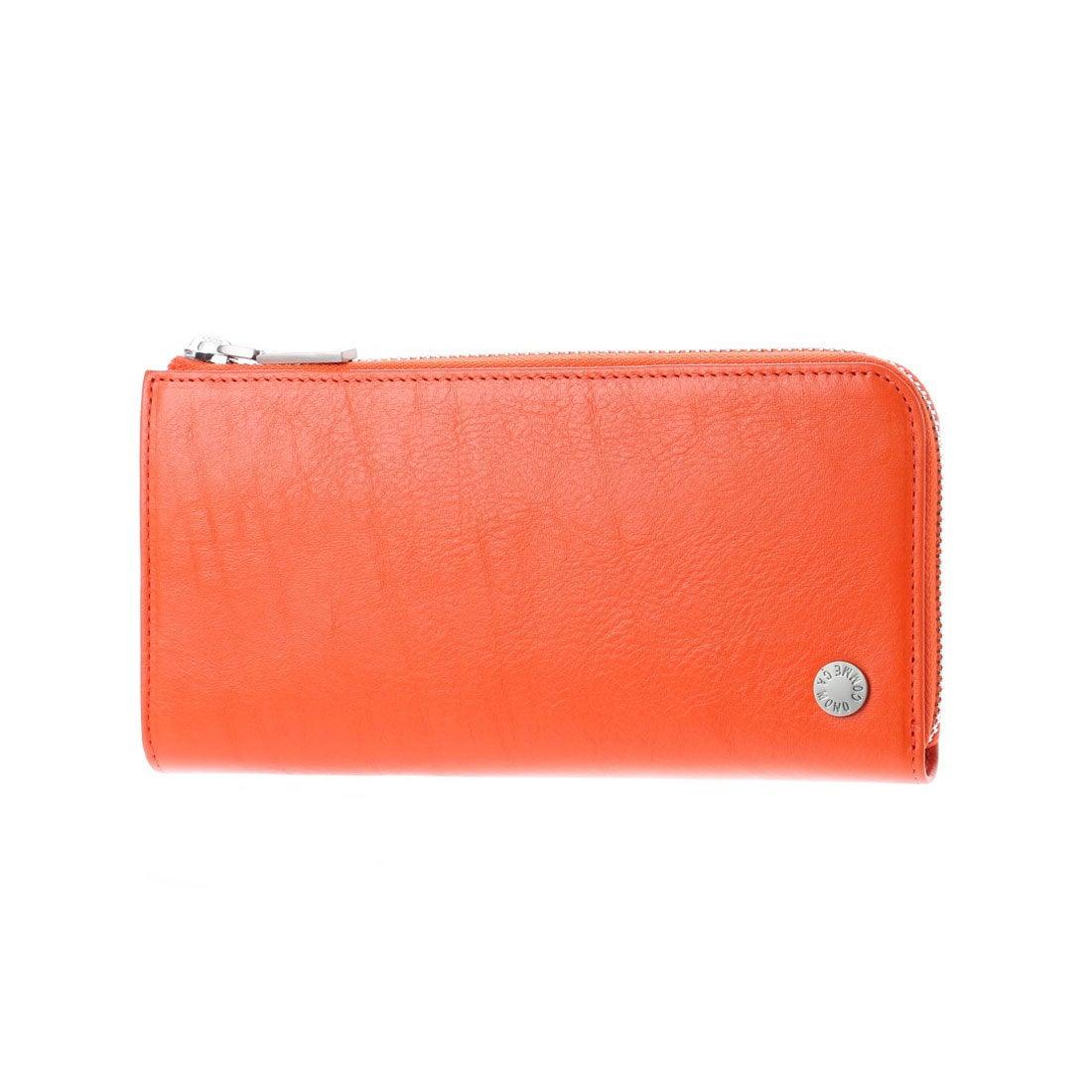 コムサイズム COMME CA ISM MONOL字ファスナー型長財布 (オレンジ) レディース メンズ