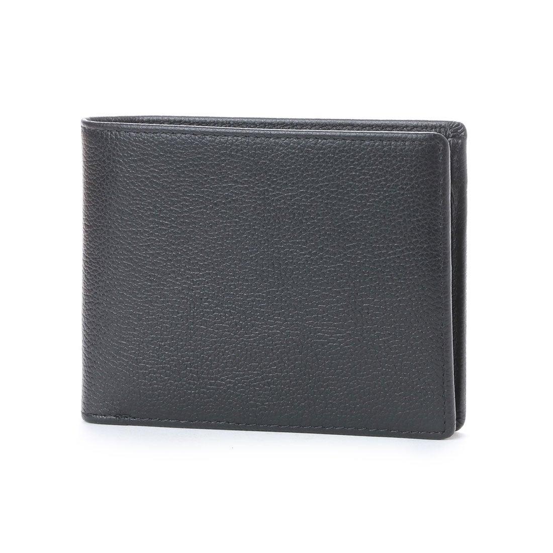 コムサイズムCOMMECAISMMONO2つ折り財布(ブラック)