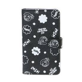コムサイズム COMME CA ISM MONO《Pekoちゃん》iPhone7対応手帳型スマホケース (ブラック)