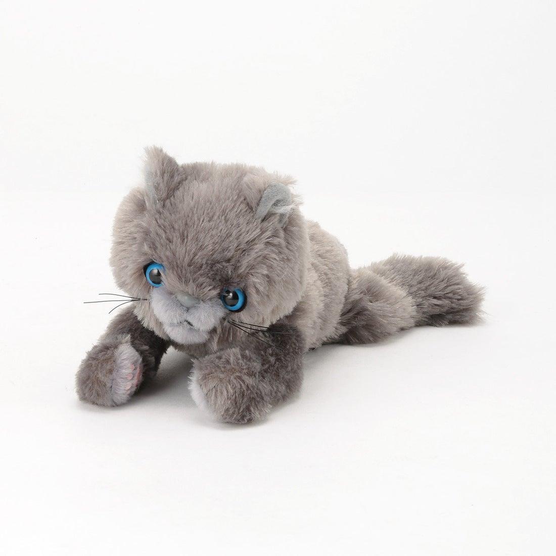 ロコンド 靴とファッションの通販サイトコムサイズム COMME CA ISM 〔モノコムサ〕 抱きぬいぐるみ 子猫 (ロシアンブルー)