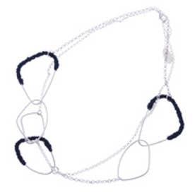 コムサイズム COMME CA ISM 糸巻きパーツネックレス (シルバー)