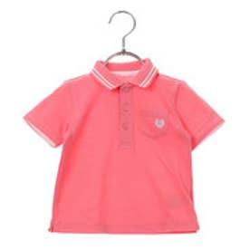 コムサイズム COMME CA ISM 鹿の子ポロシャツ (ピンク)