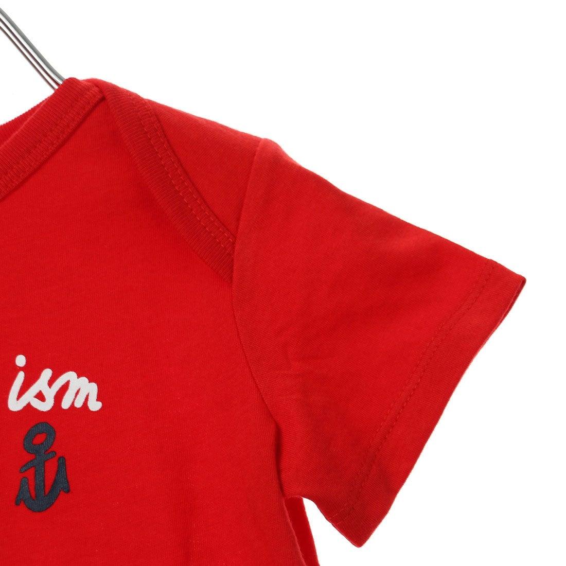 47f0cf521884b このアイテムを見ている人におすすめ. コムサイズム COMME CA ISM キッズ・ベビーおそろいアイテム 刺繍風プリント 半袖Tシャツ ...