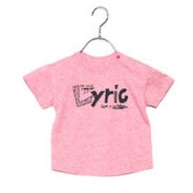 コムサイズム COMME CA ISM 手描きメッセージロゴTシャツ (レッド)