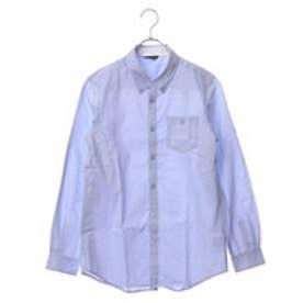 コムサイズム COMME CA ISM ボタンダウンシャツ (サックス)