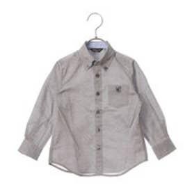 コムサイズム COMME CA ISM ボタンダウンシャツ (ブラック)