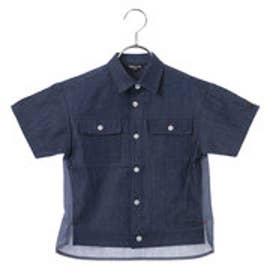 コムサイズム COMME CA ISM ダンガリーシャツ (ネイビー)