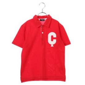 コムサイズム COMME CA ISM ポロシャツ (レッド)