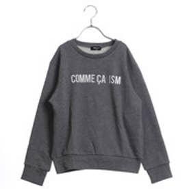 コムサイズム COMME CA ISM ファミリートレーナー(キッズサイズ) (グレー)