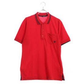 コムサイズム COMME CA ISM ファミリーポロシャツ(大人サイズ) (レッド)