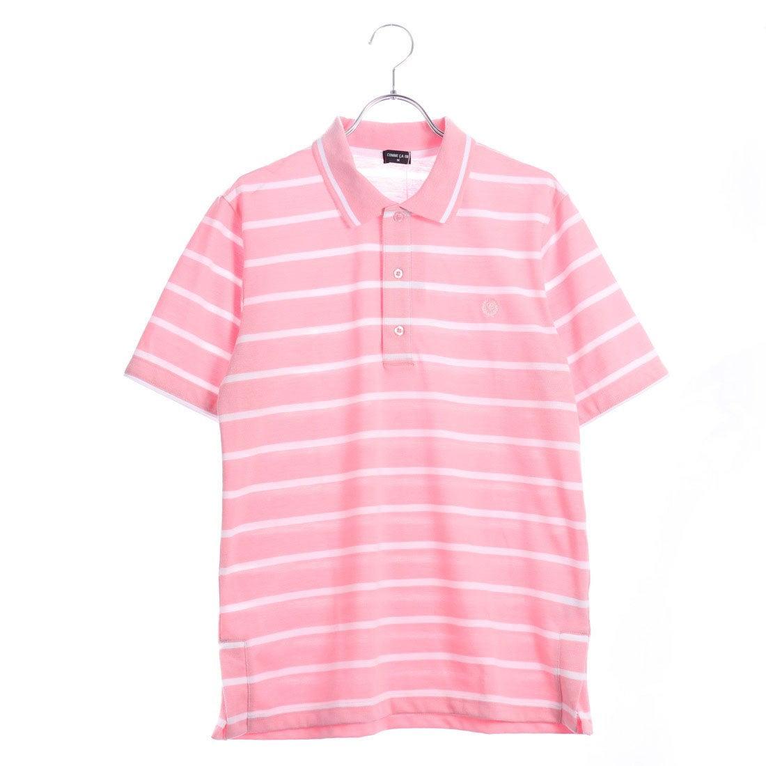 d6bb15f35741b コムサイズム COMME CA ISM ボーダーポロシャツ(大人サイズ) (ピンク) -アウトレット通販 ロコレット (LOCOLET)