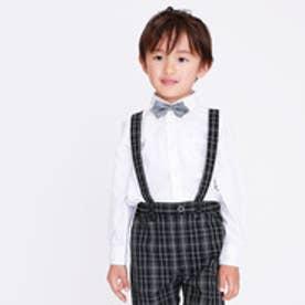 コムサイズム COMME CA ISM オックス 長袖シャツ(100~130cmサイズ) (ホワイト)