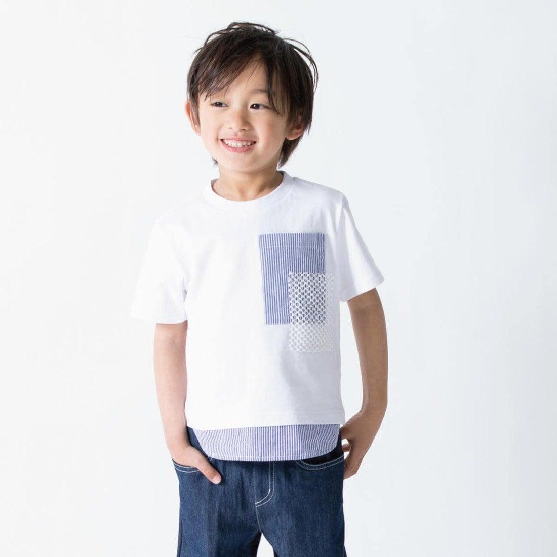 4141ce4cb2784 コムサイズム COMME CA ISM レイヤード 半袖Tシャツ (ホワイト) -靴&ファッション通販 ロコンド〜自宅で試着、気軽に返品