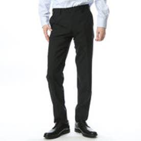 コムサイズム COMME CA ISM スーツとあわせて2パンツスーツとして対応できるパンツ (ブラック)