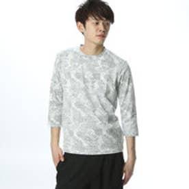 コムサイズム COMME CA ISM レイヤードのインナーとして活躍するTシャツ (ブラック)
