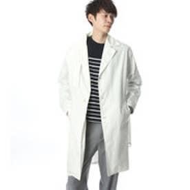 コムサイズム COMME CA ISM オーバーサイズシャツトレンチ (ホワイト)