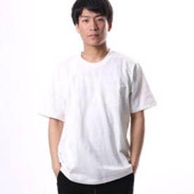 コムサイズム COMME CA ISM 編地で表現したボーダーTシャツ (ホワイト)