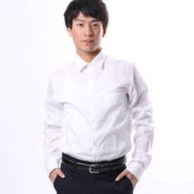 コムサイズム COMME CA ISM シャープな雰囲気の白シャツ (ホワイト)