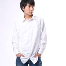 コムサイズム COMME CA ISM レギュラーワイシャツ (ホワイト)