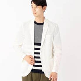 コムサイズム COMME CA ISM 羽織ライトジャケット (ホワイト)