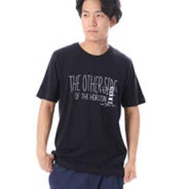 コムサイズム COMME CA ISM リーズナブルな1色プリントTシャツ (ネイビー)