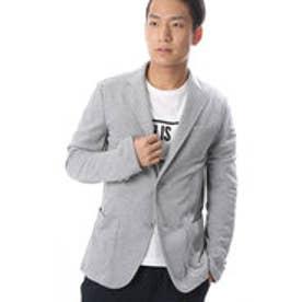 コムサイズム COMME CA ISM Tシャツの上からサラッと羽織れるイージージャケット (グレー)