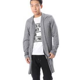 コムサイズム COMME CA ISM Tシャツの上からサラッと羽織れるコーディガン (グレー)