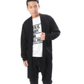 コムサイズム COMME CA ISM Tシャツの上からサラッと羽織れるコーディガン (ブラック)