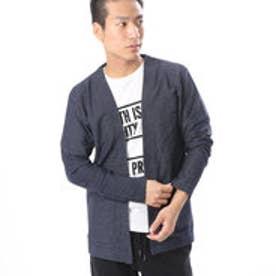 コムサイズム COMME CA ISM Tシャツの上からサラッと羽織れるカーディガン (ネイビー)