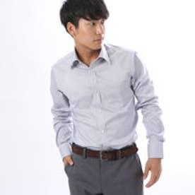 コムサイズム COMME CA ISM ストレッチ性のあるストライプシャツ