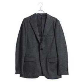 コムサイズム COMME CA ISM ジャージーセットアップジャケット (グレー)