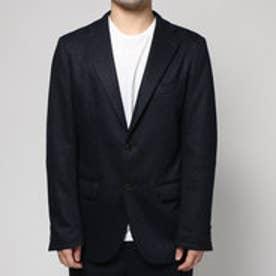 コムサイズム COMME CA ISM ジャージーセットアップジャケット (ネイビー)