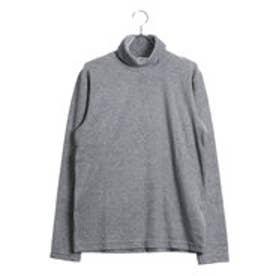 コムサイズム COMME CA ISM タートルネックTシャツ (グレー)