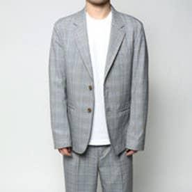 コムサイズム COMME CA ISM 春色グレンチェックジャケット (その他)