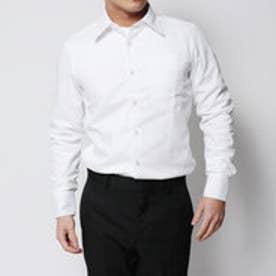 コムサイズム COMME CA ISM お手入れ簡単のイージーケアシャツ! (ホワイト)