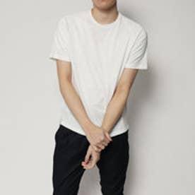コムサイズム COMME CA ISM クイックドライスポーツTシャツ (ホワイト)