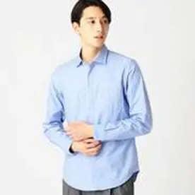 コムサイズム COMME CA ISM 吸水速乾!!!セミワイドカラーシャツ (サックス)
