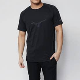 コムサイズム COMME CA ISM 〔ミズノ コラボ商品〕ロゴTシャツ (ブラック)